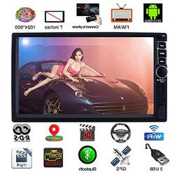 Upgraded 7 Inch Touch Screen Android 7.1 QuadCore CPU Double