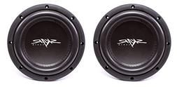 "NEW SKAR AUDIO VVX-8V3 D2 8"" 800W MAX POWER DUAL 2 SUBWOOFE"