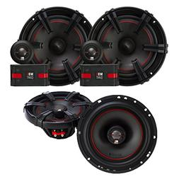 """MB Quart X-Line Series 6.5"""" Component Set and Coaxial speake"""