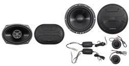 "Hifonics ZS65C 6.5"" 800w Component Car Speakers+ 6x9"" 800w C"