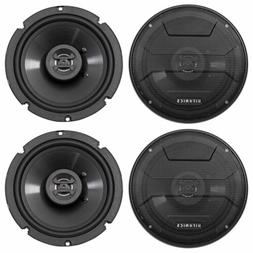 "Hifonics ZS65CXS 6.5"" 1200 Watt Shallow Mount Car Stereo Sp"