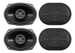 "Hifonics ZS693 6x9"" 1600 Watt Car Audio Coaxial Speakers"